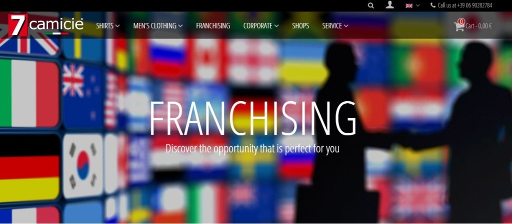 7 camicie Franchising Network