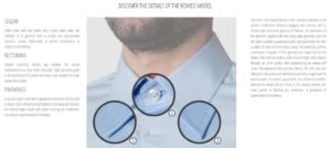 AEFFE Lab 7camicie guida ai modelli shop online camicie uomo donna bambino