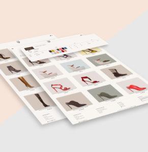 AEFFE Lab Portfolio J.E.M Shoes Pagina Catalogo