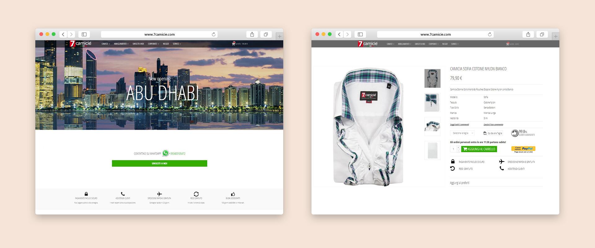 AEFFE Lab Portfolio 7camicie Shop Online Camicie Uomo Donna Bambino