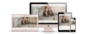 AEFFE Lab Portfolio J.E.M Shoes Responsive Design B2C Business To Consumer