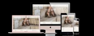 AEFFE Lab Portfolio J.E.M Shoes Responsive Design B2C Business To Consumer