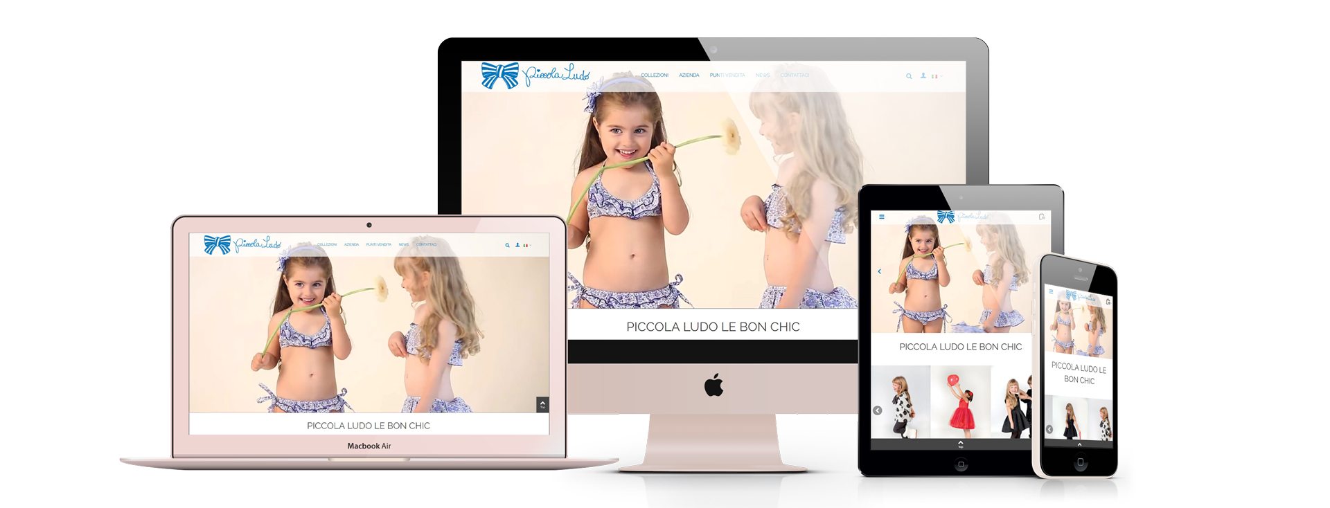 AEFFE Lab Portfolio Piccola Ludo Web Site Responsive Design