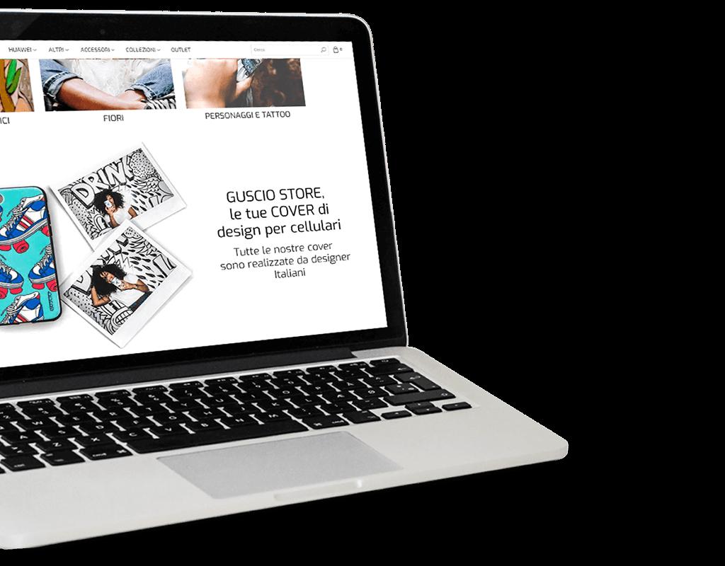 GUSCIO-store-la-sfida-AEFFE-lab-portfolio-tablet
